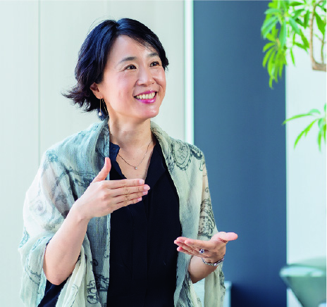 EYパルテノン マネージングディレクター/パートナー Strategy Execution Lead for Asia-Pacific 小林暢子氏
