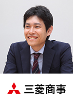 三菱商事株式会社 人事部採用チーム 新卒採用担当 清水 剛(シミズ ゴウ)氏